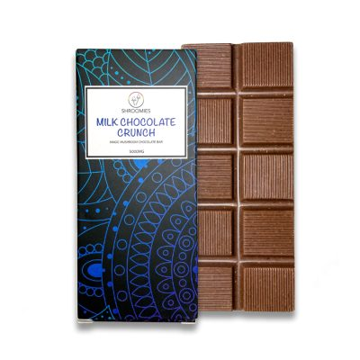 Shroomies Milk Chocolate Crunch Bar 5000MG