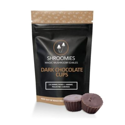 Shroomies Dark Chocolate Cups 1000mg